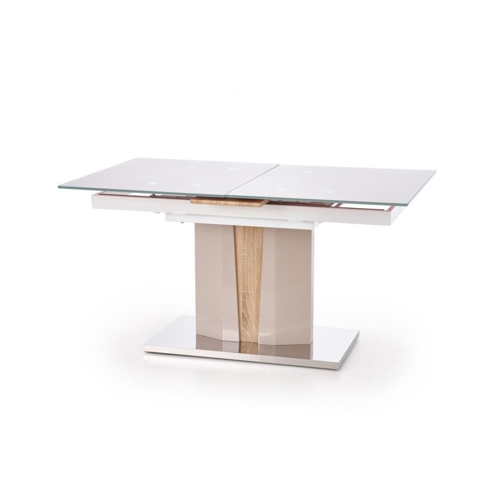 Rozkladací jedálenský stôl v dekore dubového dreva Halmar Cameron, dĺžka 150 - 180 cm
