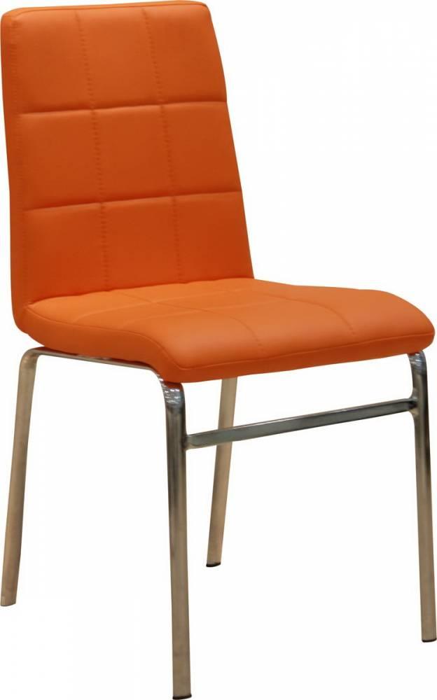 Jedálenská stolička Doroty New oranžová