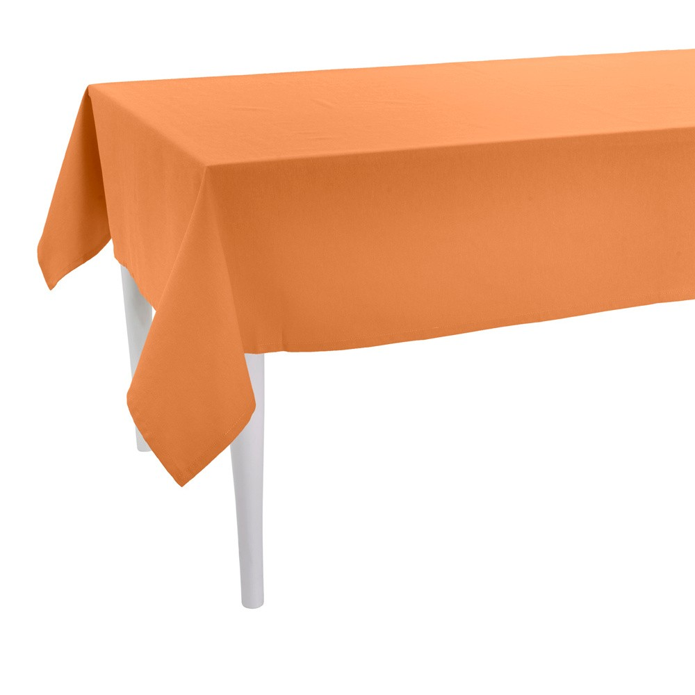 Oranžový obrus Apolena Plain Orange, 170×170cm