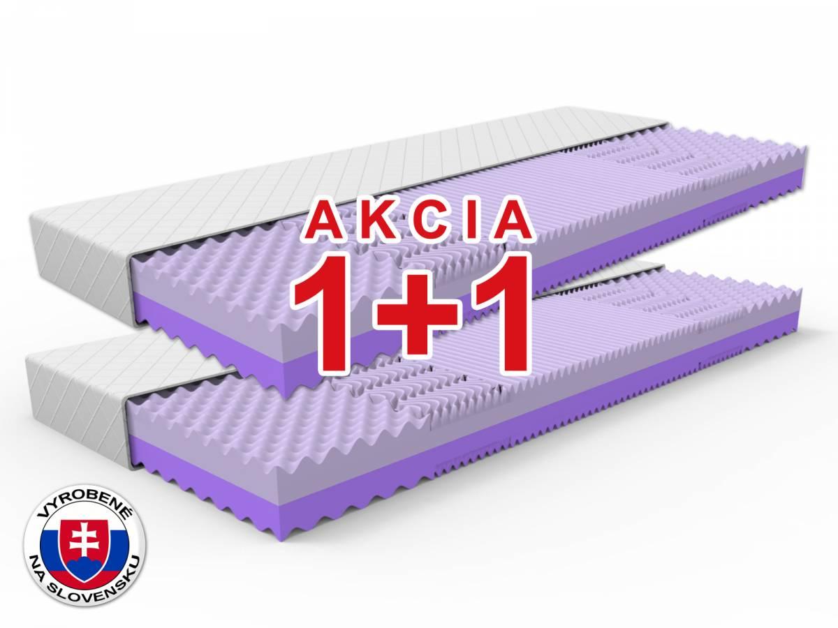 Penový matrac Happy 200x90 cm (T3/T3,5) *AKCIA 1+1