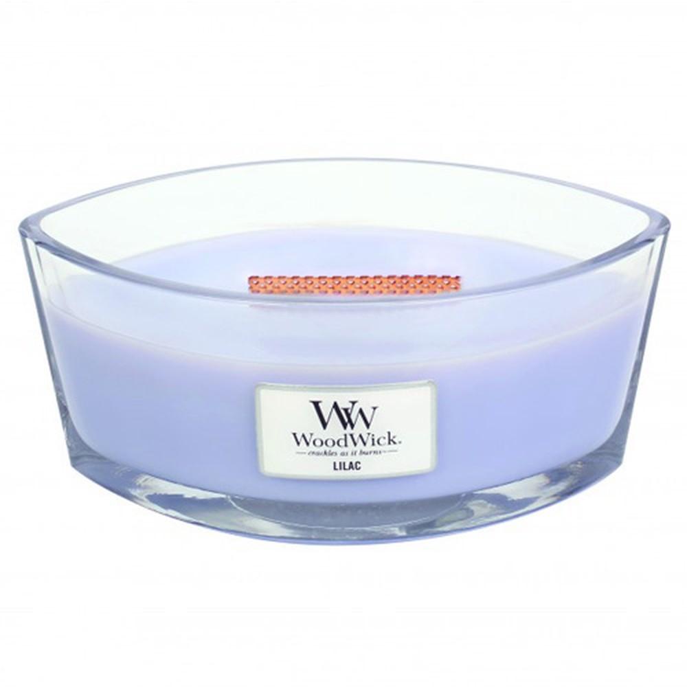 Vonná sviečka WoodWick Orgován, 453 g, 50 hodín