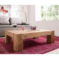 Furniture nábytok  Masívny konferenčný stolík  z Palisanderu  Pati I  110x60x45 cm
