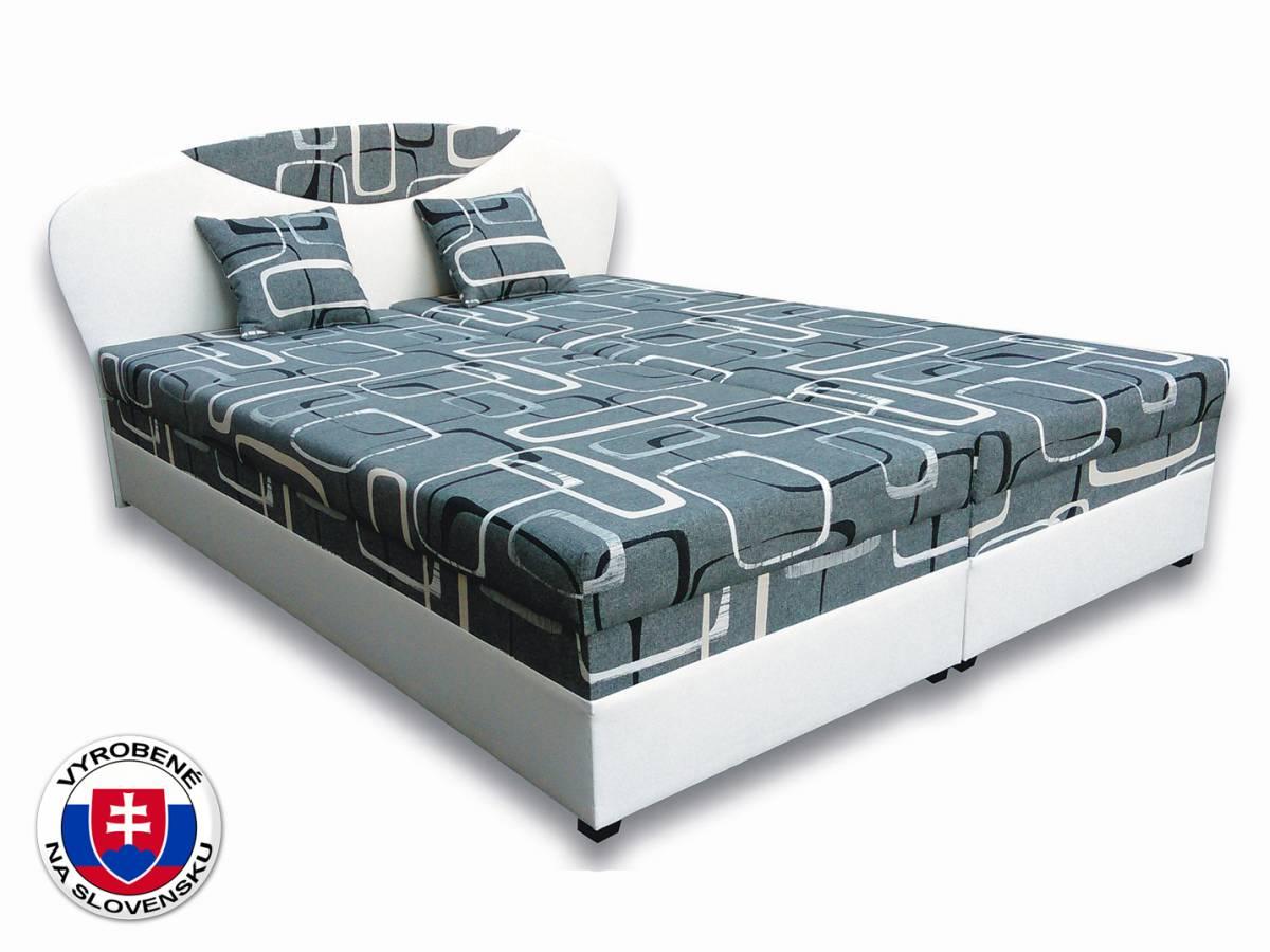 Manželská posteľ 160 cm Izabela 1 (s matracmi)