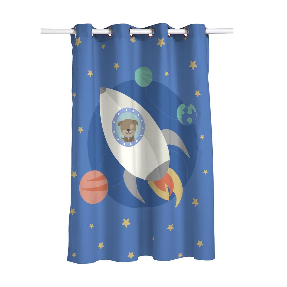 Závesy Happynois Astronaut, 135x180cm