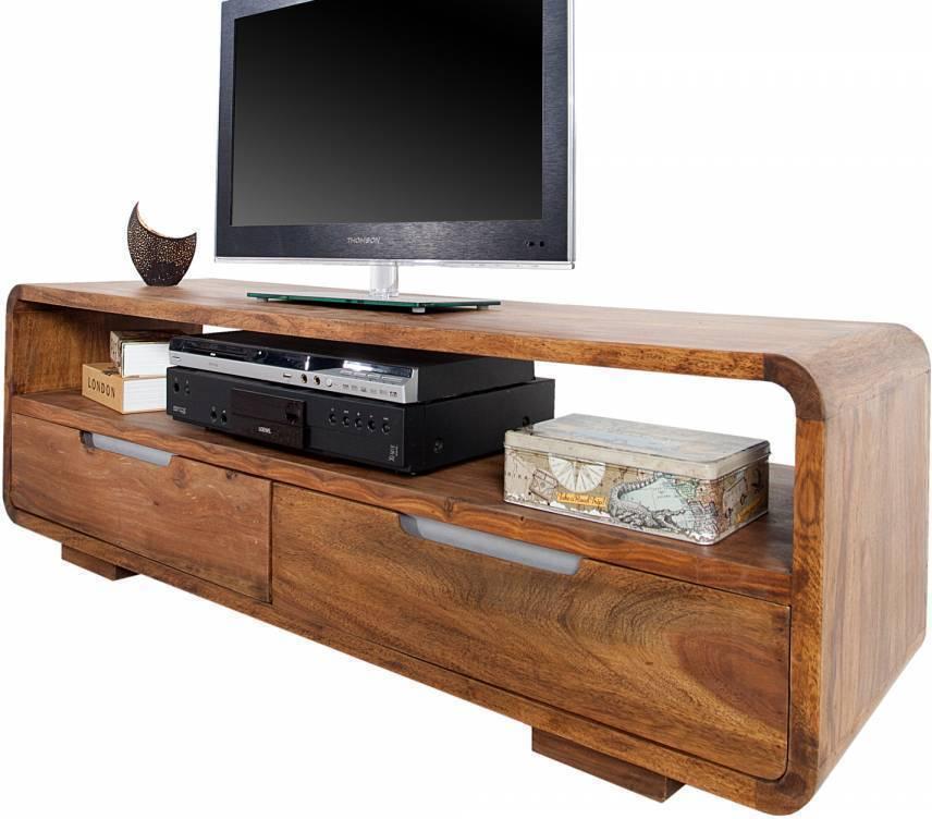 TV Stolík GAO 130 cm - hnedá