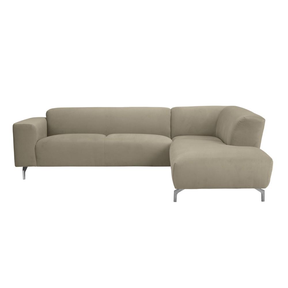 Rohová pohovka v prírodnej farbe Windsor & Co Sofas Orion, pravý roh