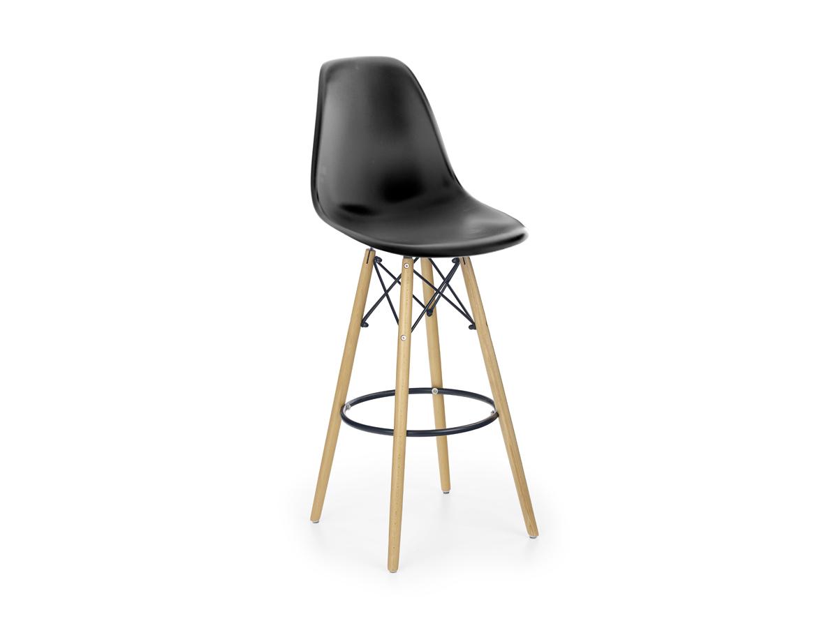 Barová stolička H51 (čierna)