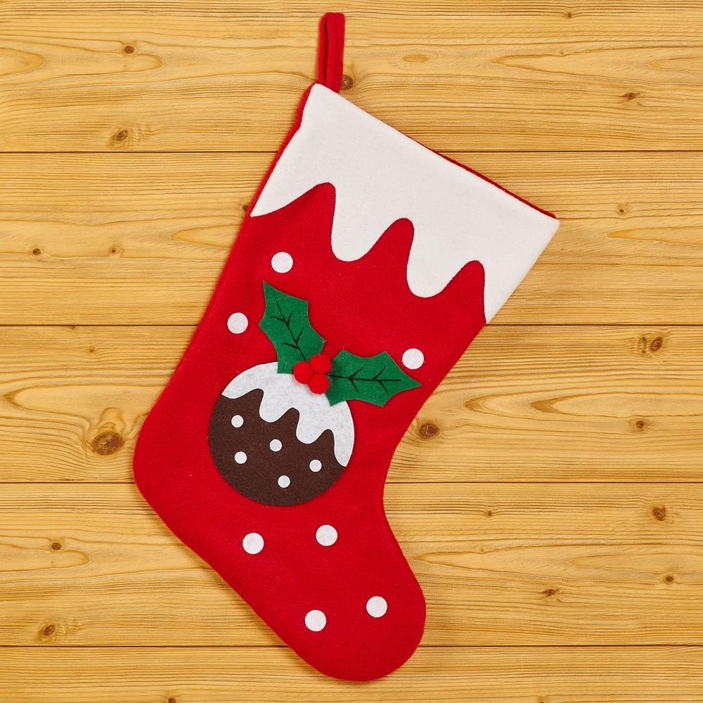 Vianočná ponožka Neviti Christmas Pudding