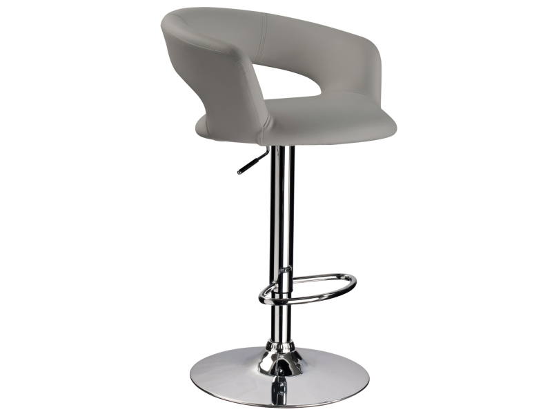 CB-328 barová stolička, šedá