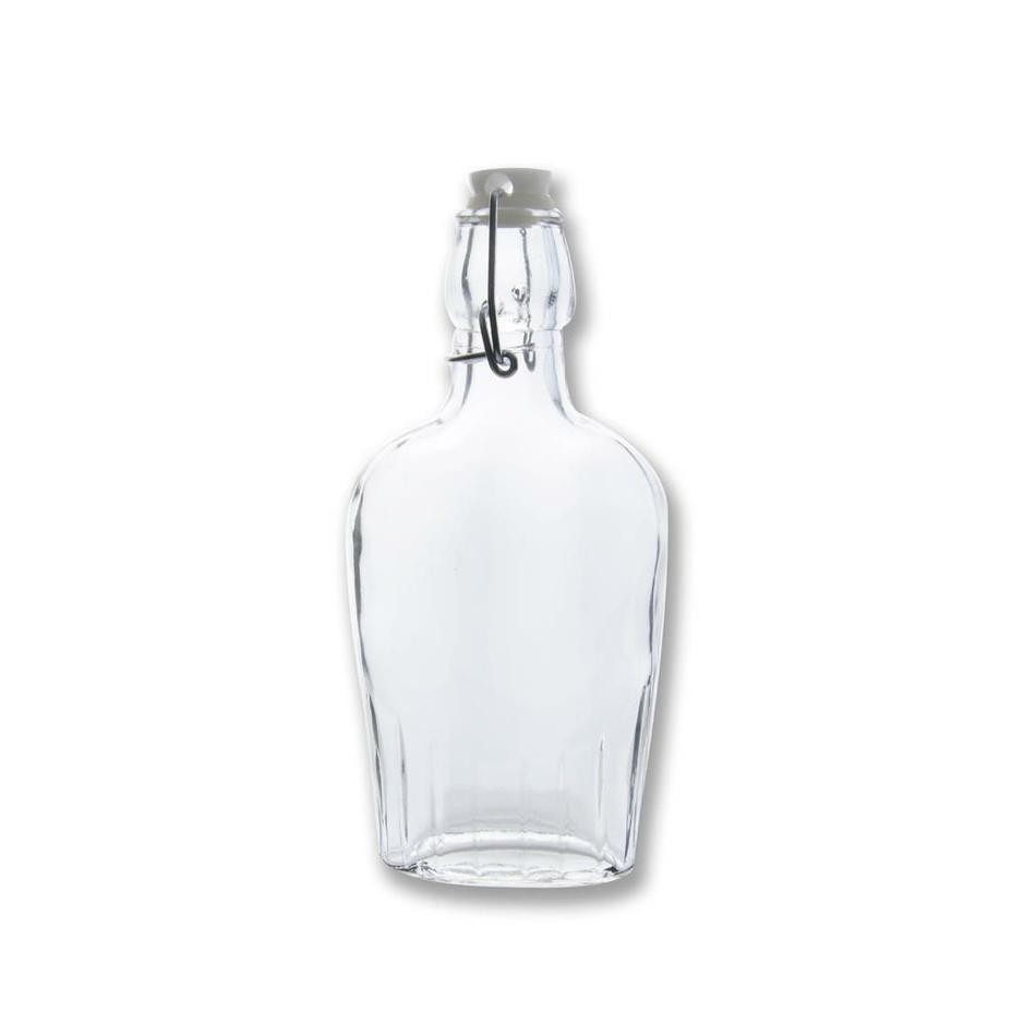 Orion Sklenená fľaša s Clip uzáverom, 0,18 l