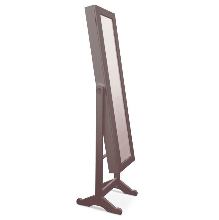 Zrkadlo FY13015-3, tmavohnedá, MIROR