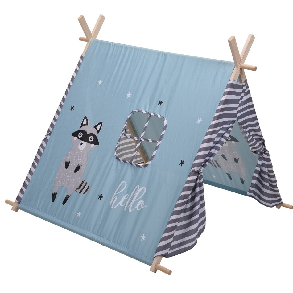 Koopman Detský stan Raccoon, 101 x 106 x 106 cm