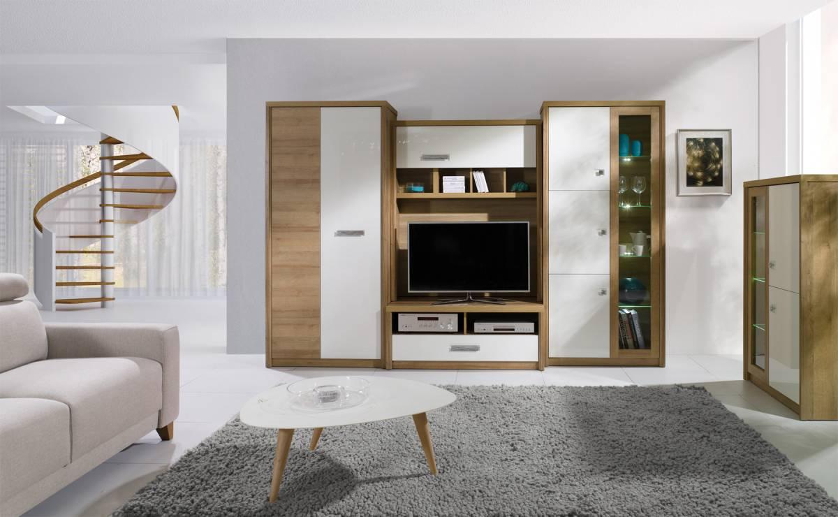 MIKADO základná obývacia stena+ LED svetlá ZDARMA!
