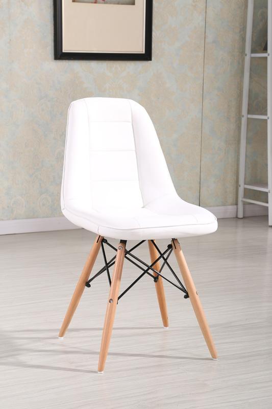Jedálenská stolička VERI, biela
