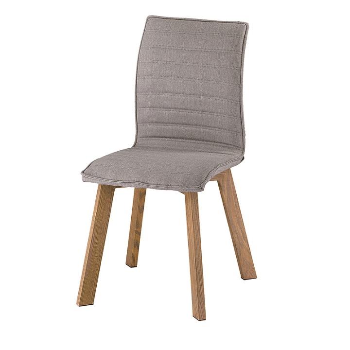Jedálenská stolička Nastia (sivá látka)