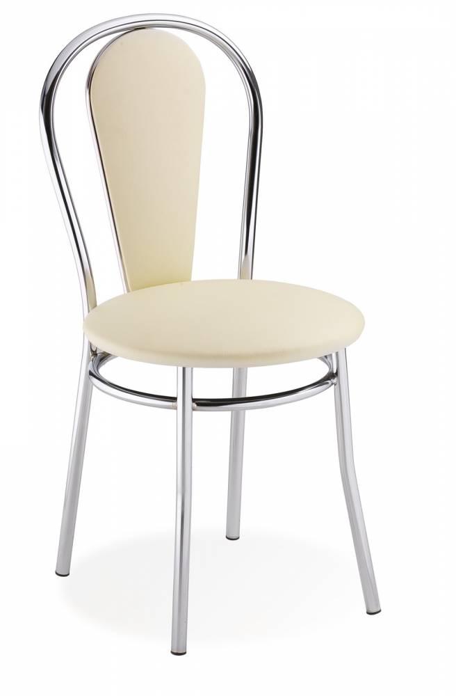 Jedálenská stolička Tulipan Plus krémová
