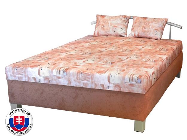Manželská posteľ 140 cm Maša (so sendvičovým matracom)