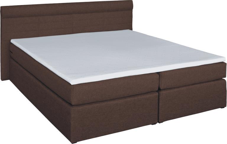 RENAR TORINO 180 posteľ - hnedá