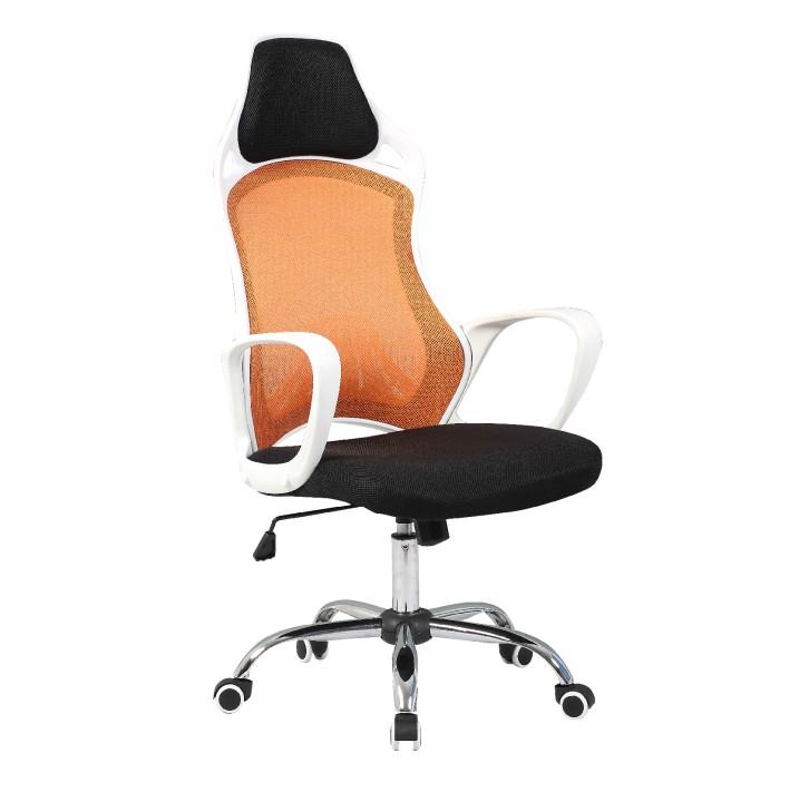 Kancelárska stolička ARIO   Farba: Biela/oranžová