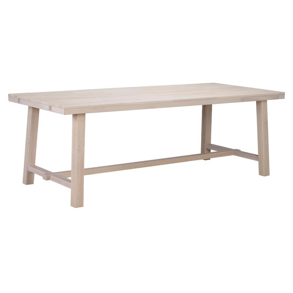 Matne lakovaný dubový jedálenský stôl Folke Heimdal