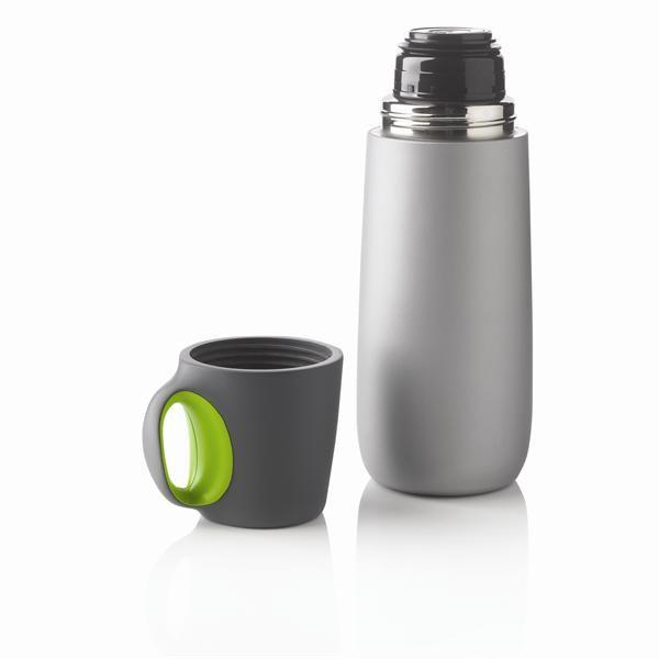 Zelená termoska s hrnčekom XD Design Bopp
