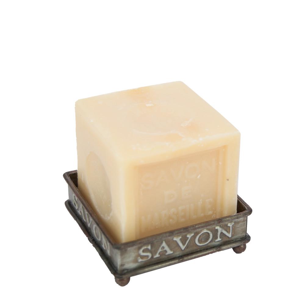 Stojan na mydlo Antic Line Zinc Soap