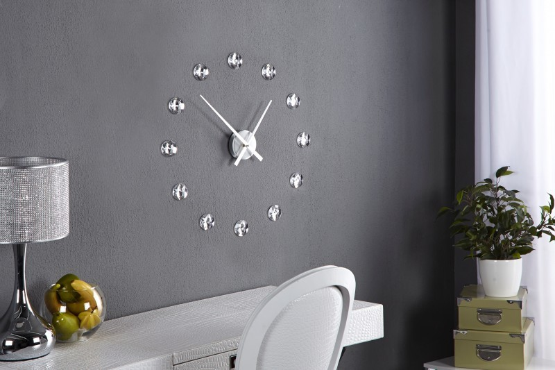 Nástenné hodiny ALDEN s krištálmi