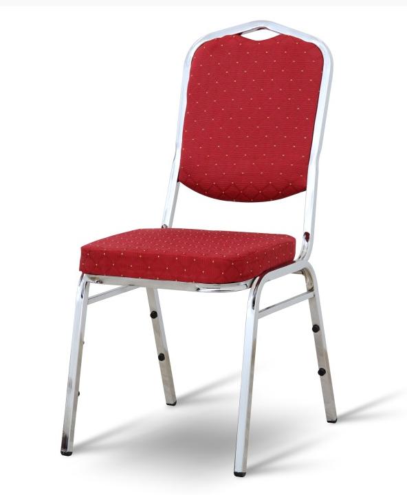 Stohovateľná stolička LEJLA NEW   Farba: Čierna