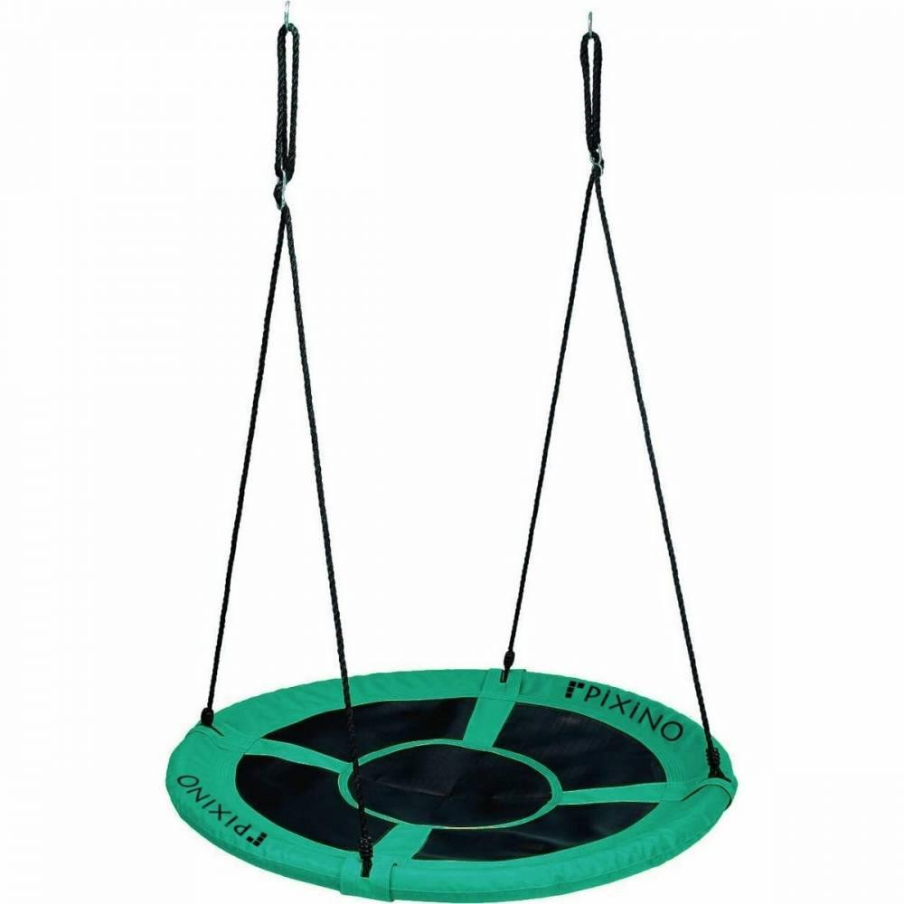 Pixino Hojdací kruh Bocianie hniezdo zelená, pr. 100 cm