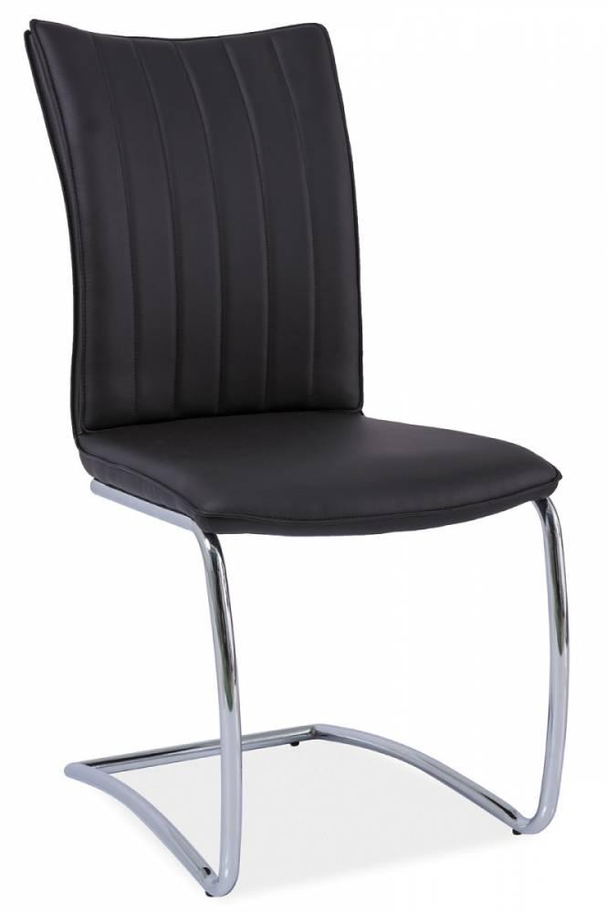 Jedálenská stolička HK-455, čierna