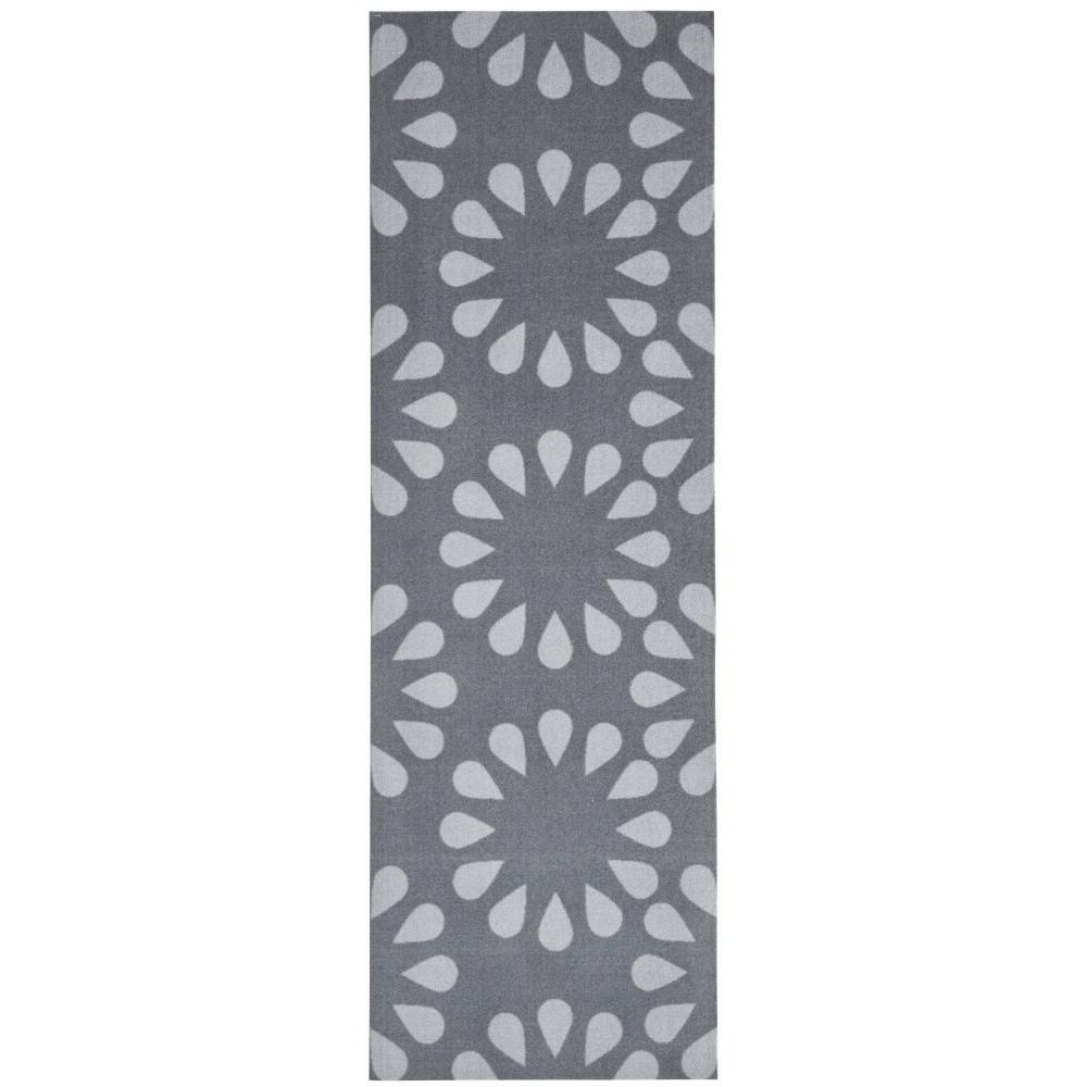 Sivý kuchynský koberec Hanse Home Bloom, 50x150cm