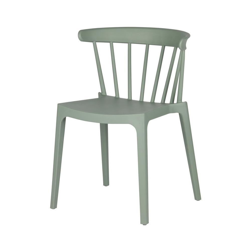 Zelená stolička DeEekhoorn Bliss