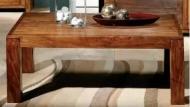 Furniture nábytok  Masívny konferenčný stolík  z Palisander  Námdév II  120x75x45 cm