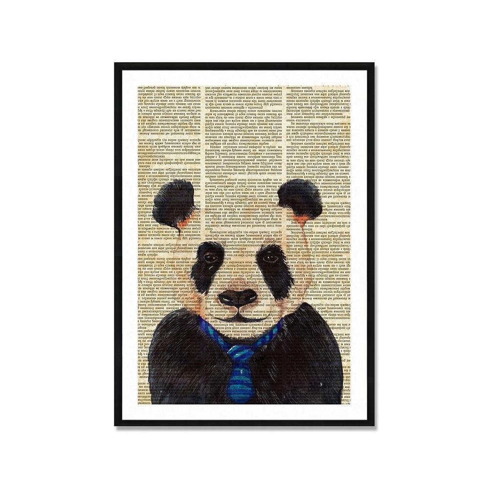 Obraz Really Nice Things Newspaper Panda, 40x60cm