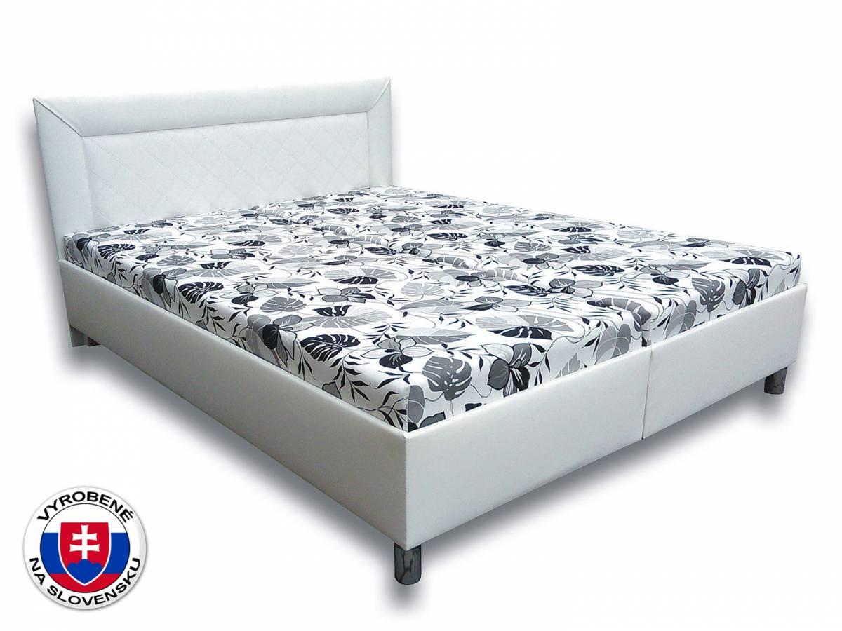 Manželská posteľ 160 cm Katka VN (s matracmi)