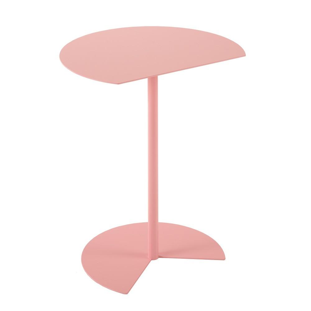 Ružový príručný stolík MEME Design Way