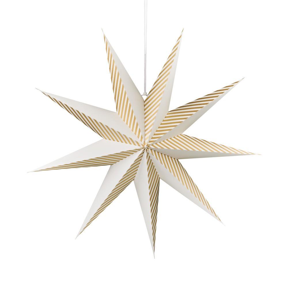 Papierová dekoratívna hviezda Butlers, ⌀60 cm