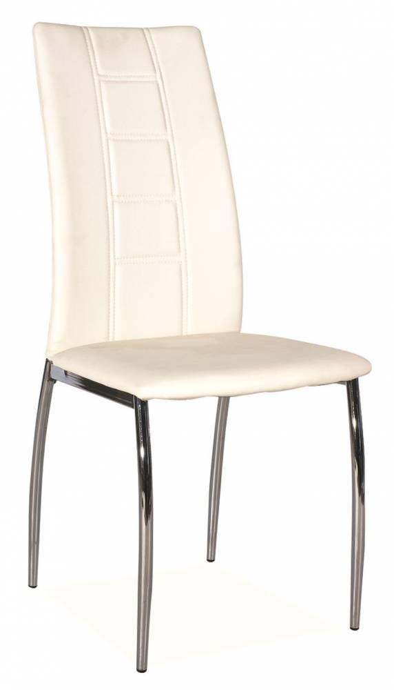 Jedálenská stolička HK-880, biela