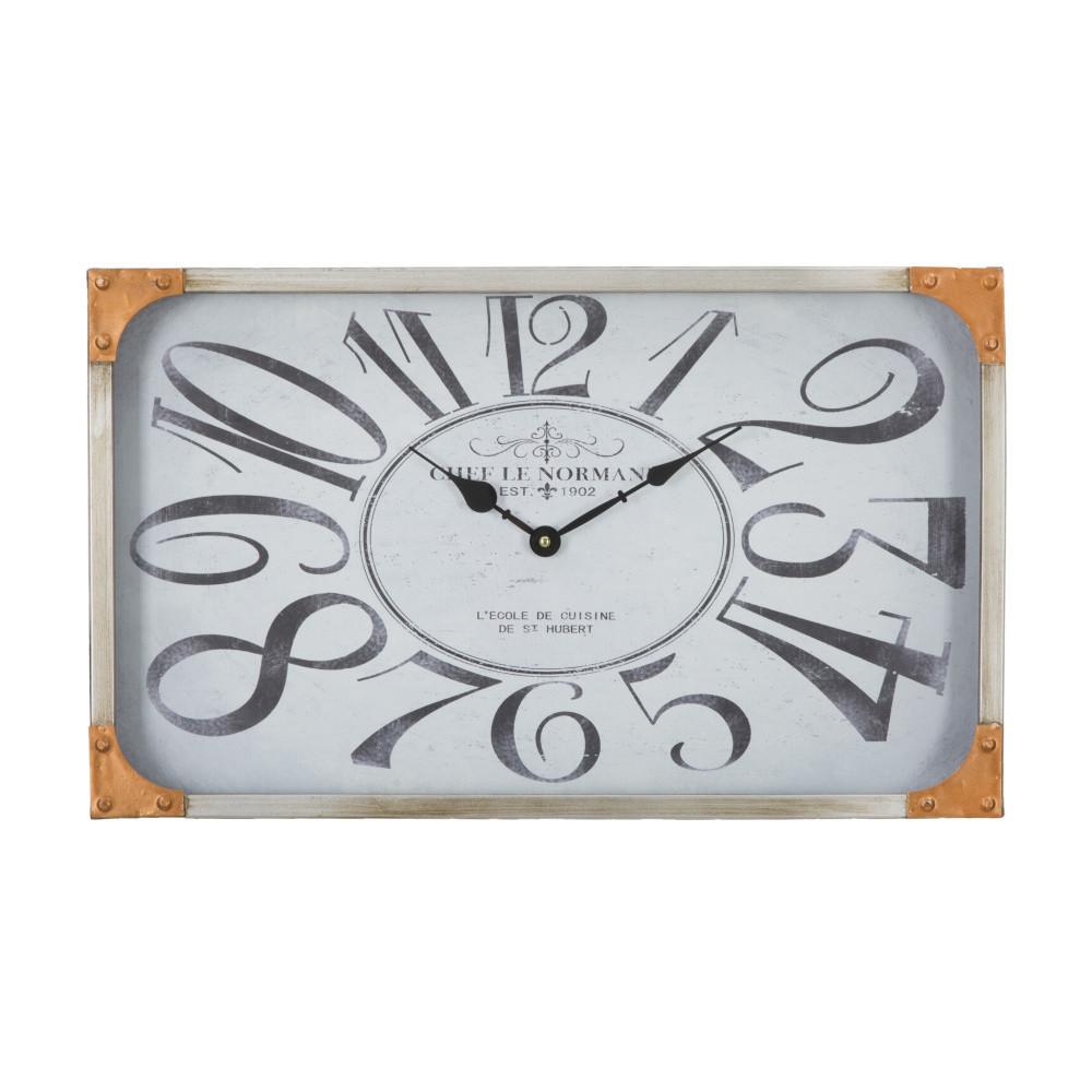 Nástenné hodiny Mauro Ferretti Copper, 50 x 30 cm