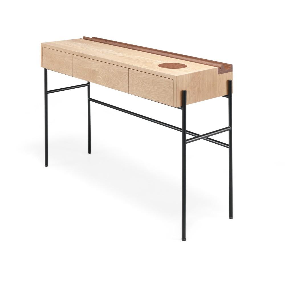 Konzolový stolek z orechového a dubového dreva Wewood - Portugues Joinery Concierge