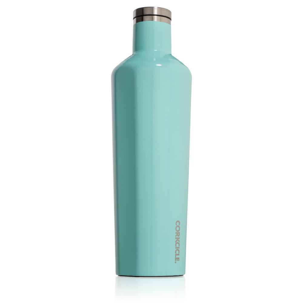Tyrkysová termofľaša Corkcicle Canteen, 740ml
