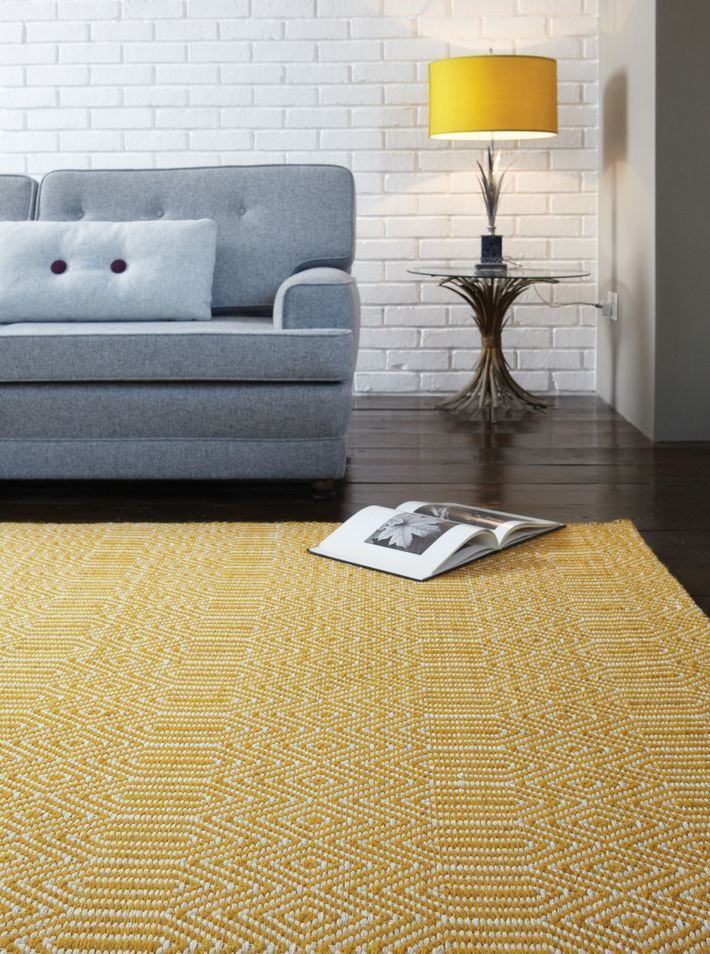 Sloan koberec - horčicová