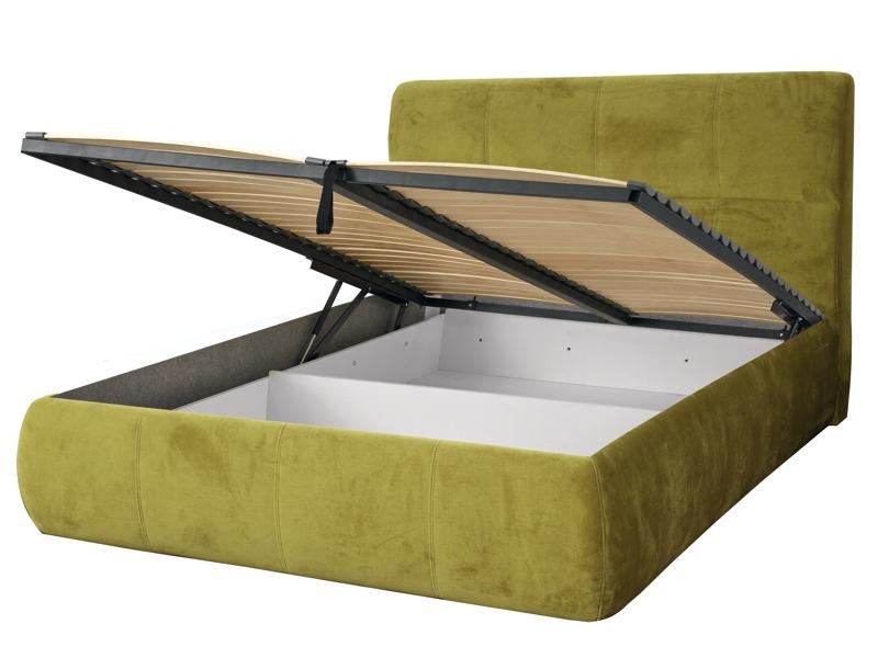 Čalúnená posteľ DALIA s úlož. priestorom 160x200 cm, bez roštu