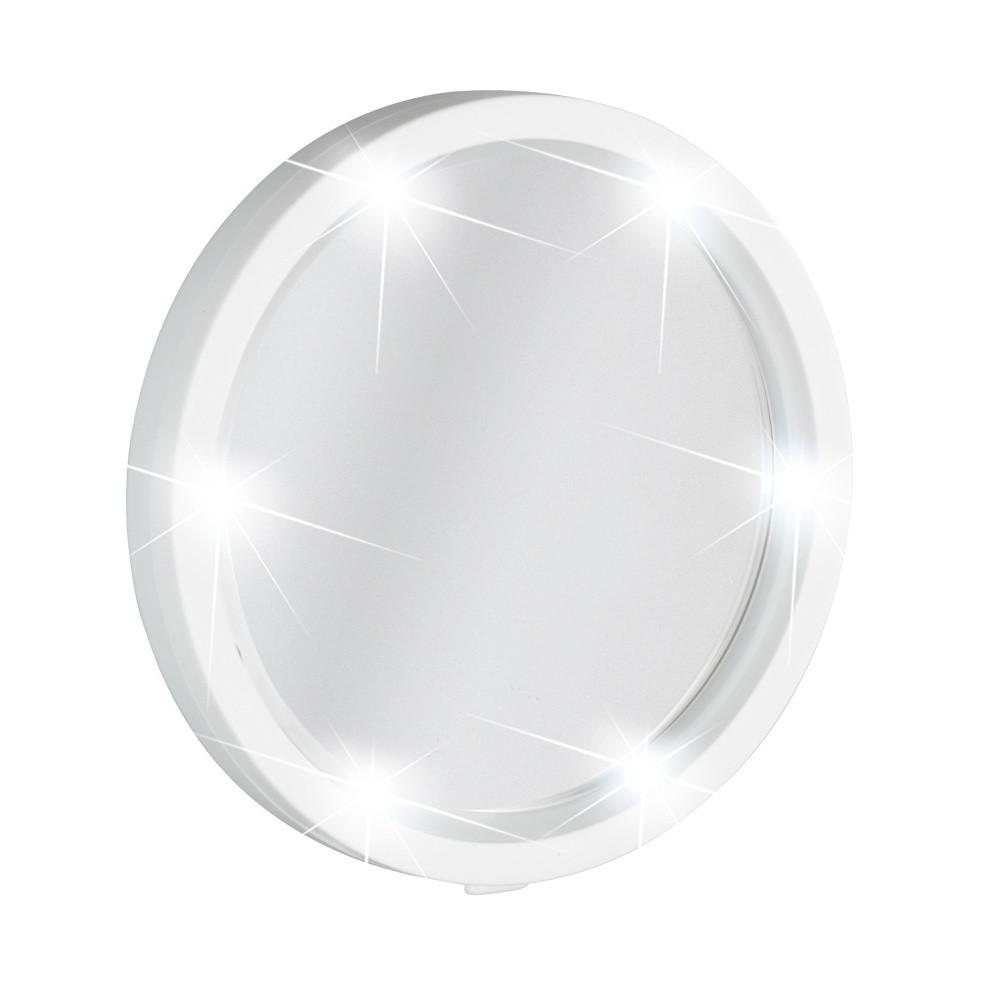 Nástenné zväčšovacie zrkadlo s LED osvetlením Wenko Travel