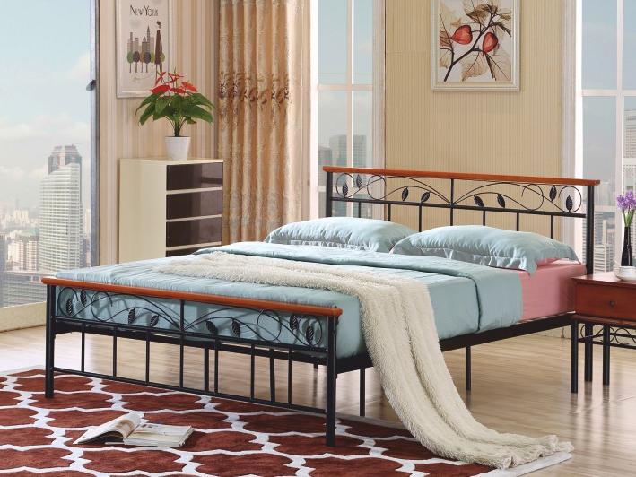 Manželská posteľ 180 cm Morena (s roštom)