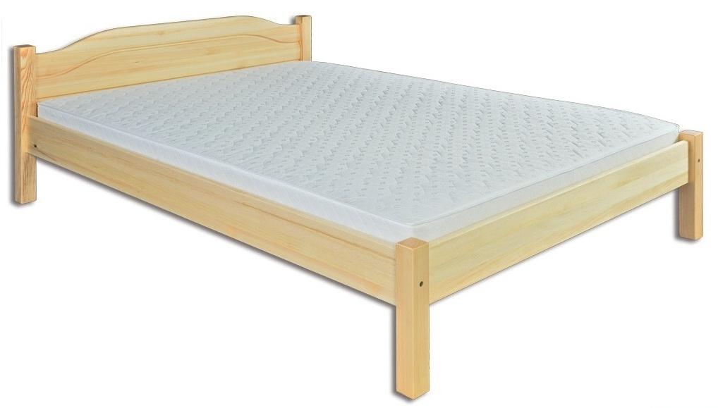 Manželská posteľ 140 cm LK 106 (masív)