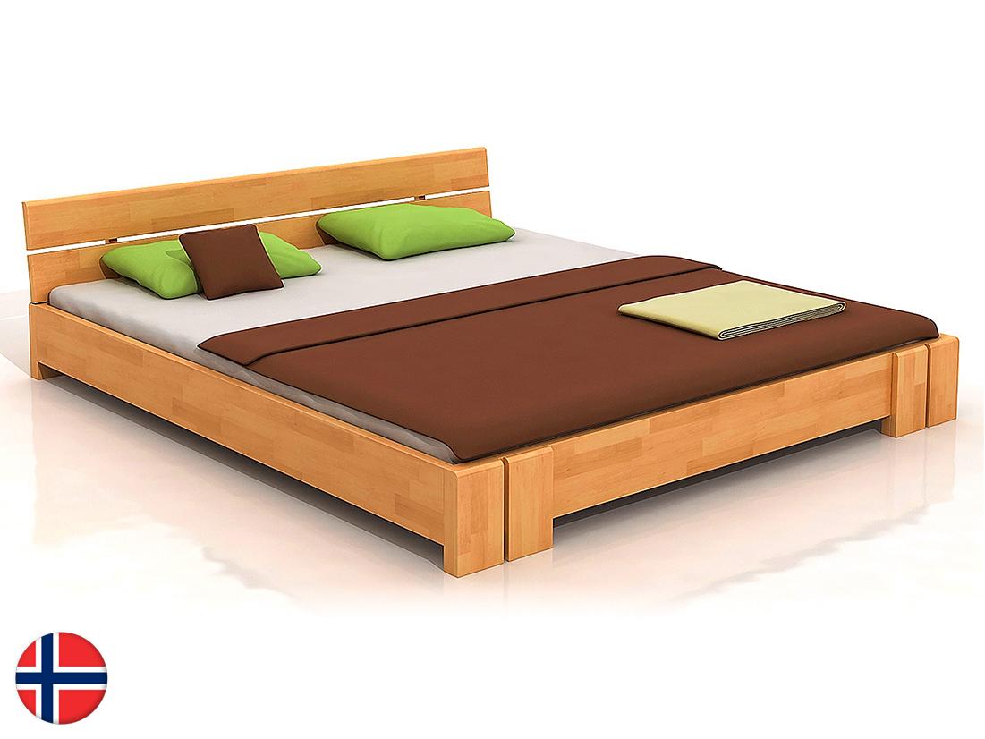 Manželská posteľ 160 cm Naturlig Tosen (buk) (s roštom)