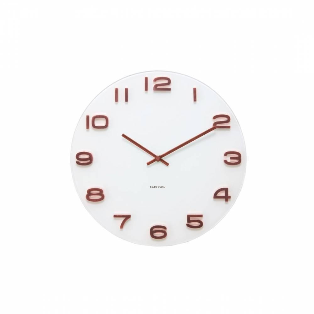 Karlsson 5534 Designové nástenné hodiny, 35 cm