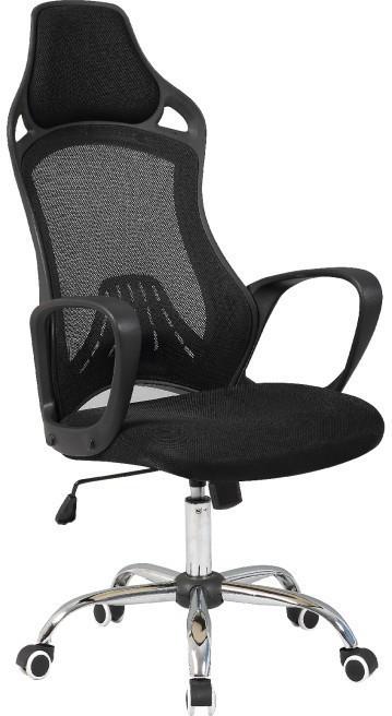 Kancelárska stolička, čierna, ARIO
