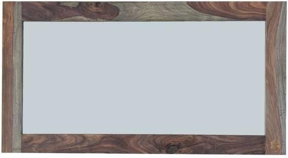 NATURE GREY #071 Sheesham  zrkadlo, masívny palisander